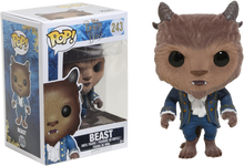 Beauty and the Beast (2017) - Beast Flocked US Exclusive Pop! Vinyl Figure