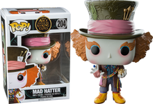 Alice Through The Looking Glass - Mad Hatter with Chronosphere US Exclusive Pop! Vinyl Figure