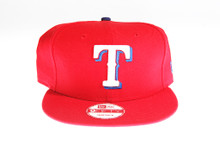 Texas Rangers Red New Era 9Fifty Snapback Hat