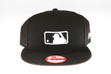 Umpire On-Field Black 9Fifty MLB Snapback Hat