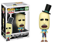 Rick and Morty - Mr Poopy Butthole Wounded US Exclusive Pop! Vinyl Figure