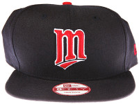 Minnesota Twins Dark Blue New Era 9FIFTY MLB Snapback Hat