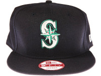 Seattle Mariners Navy Blue New Era 9FIFTY MLB Snapback Hat