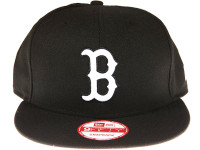 Boston Red Sox Black New Era 9FIFTY MLB Snapback Hat