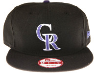 Colorado Rockies Black New Era 9FIFTY MLB Snapback Hat