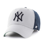 New York Yankees 47Brand Two Tone MLB Strapback Clean Up Hat