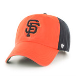 San Francisco Giants 47Brand Two Tone MLB Strapback Clean Up Hat
