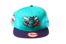 Charlotte Hornets Logo New Era Snapback Hat