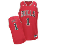 Chicago Bulls Derick Rose Red Adidas Swingman Jersey