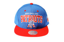 New England Patriots Arch Snapback Hat