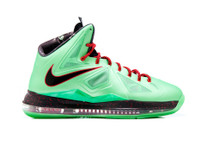 Nike Lebron X (10) Cutting Jade Shoes