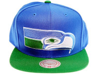 Seattle Seahawks XL Logo NFL Snapback Hat