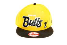 Chicago Bulls Custom Yellow New Era Snapback