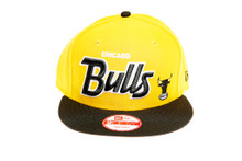 Chicago Bulls Custom Yellow New Era Snapback