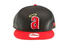 California Angels Logo Dark Navy Blue New Era Snapback Hat
