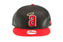 California Angels Logo Dark Navy Blue New Era Snapback Hat