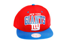 New York Giants Reverse Arch Snapback Hat