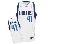 Dallas Mavericks White Home Adidas Swingman Jersey