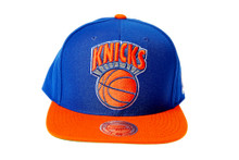 New York Knicks XL Logo Mitchell & Ness Snapback