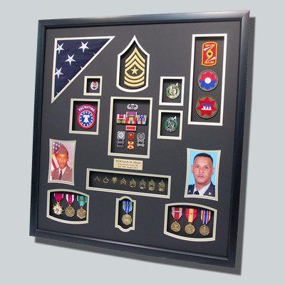 armyrecuitermilitarydisplayjpg - Military Picture Frames