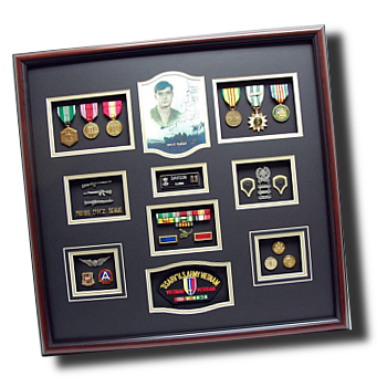 shadowbox.png  sc 1 st  Military Memories and More & Custom Military Shadow Box Display Cases and Frames Aboutintivar.Com