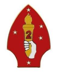 2nd Marine Division Combat Service Identification Badge (CSIB)