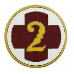 2nd Medical Brigade Combat Service Identification Badge (CSIB)
