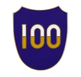 100th Training Division Combat Service Identification Badge (CSIB)