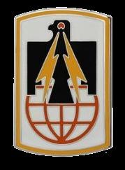 11th Signal Brigade Combat Service Identification Badge (CSIB)
