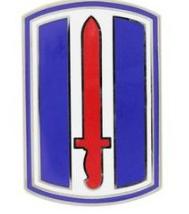 193rd Infantry Brigade Combat Service Identification Badge (CSIB)