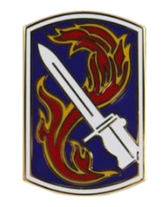 198th Infantry Brigade Combat Service Identification Badge (CSIB)