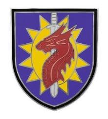 224th Sustainment Brigade Combat Service Identification Badge (CSIB)