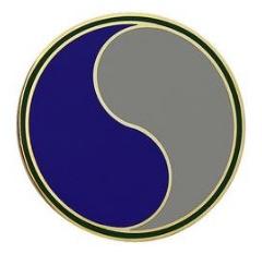 29th Infantry Division Combat Service Identification Badge (CSIB)