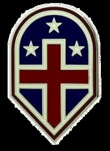 332nd Medical Brigade Combat Service Identification Badge (CSIB)