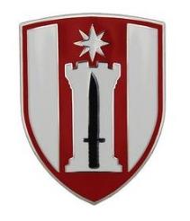 372nd Engineer Brigade Combat Service Identification Badge (CSIB)