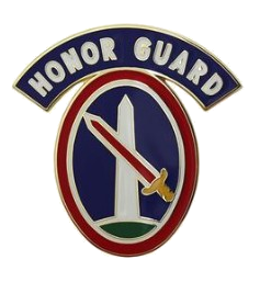 3rd Infantry Regiment Military District of Washington with Honor Guard Tab Combat Service Identification Badge (CSIB)