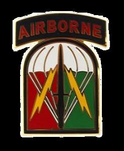 528th Sustainment Brigade Combat Service Identification Badge (CSIB)
