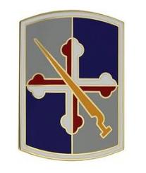 58th Infantry Brigade Combat Combat Service Identification Badge (CSIB)