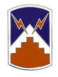 7th Signal Brigade Combat Service Identification Badge (CSIB)