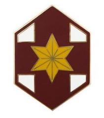 804th Medical Brigade Combat Service Identification Badge (CSIB)