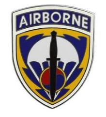 Special Operations Command Korea Combat Service Identification Badge (CSIB)