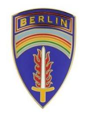 US Army Berlin Command Combat Service Identification Badge (CSIB)