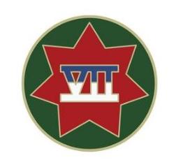 VII Corps Combat Service Identification Badge (CSIB)
