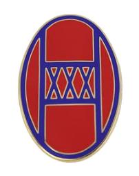 30th Armored Brigade Combat Team Combat Service Identification Badge (CSIB)
