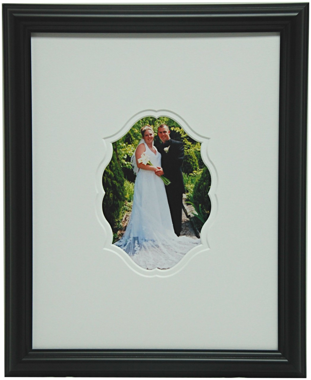 Signature Frame With Oriental Oval Opening - Military Memories and More