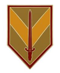1st Sustainment Brigade Combat Service Identification Badge (CSIB)