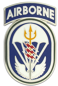 Special Operations Command South Combat Service Identification Badge (CSIB)