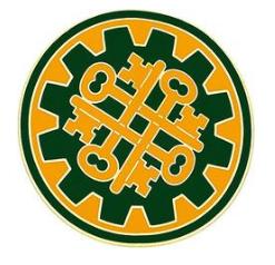 177th Military Police Brigade Combat Service Identification Badge (CSIB)