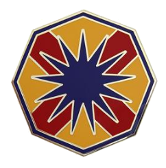 13th Sustainment Command Combat Service Identification Badge (CSIB)