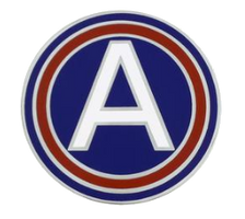 US Army Central Combat Service Identification Badge (CSIB)